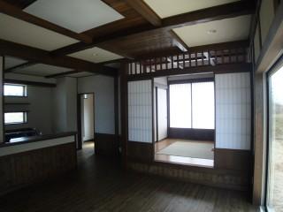 大仙市TM邸 リビング