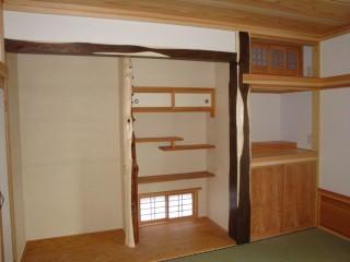 雄物川町SS邸 和室