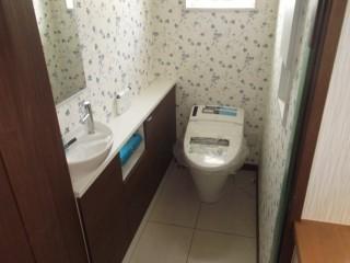 横手市F邸 トイレ