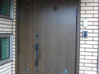 横手市SG邸 玄関