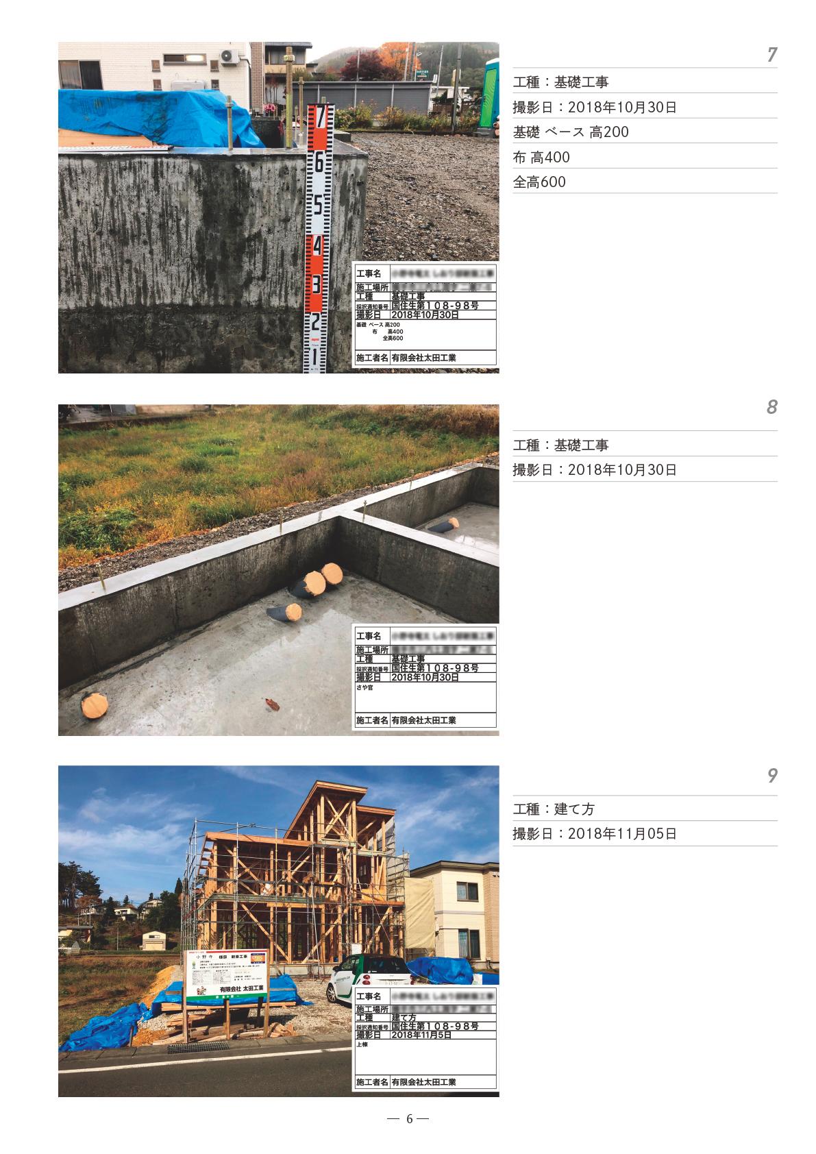 基礎工事~建て方