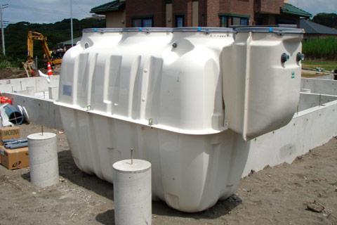合併処理浄化槽設置工事