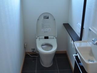 美里町T邸 トイレ