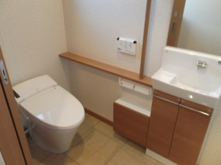 横手市C邸 トイレ